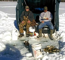 Ice fishing cass lake minnesota sah kah tay for Ice fishing tournaments mn 2017