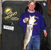 Ice Fishing Cass Lake Minnesota