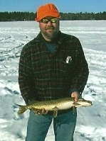 Ice Fishing Cass Lake Minnesota