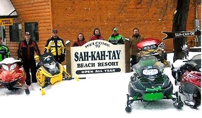 Snowmobiling Cass Lake Minnesota